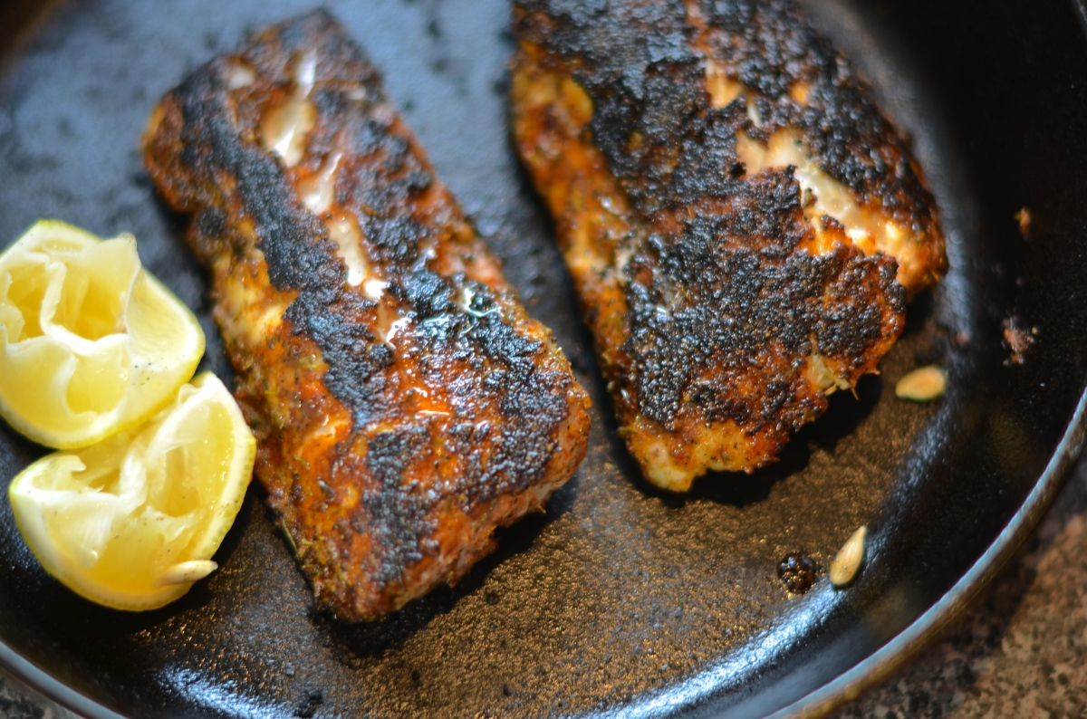 One Fish Two Fish Blackened Grouper Jokes And Snacks